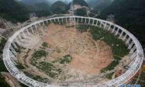 Powstaje największy radioteleskop na świecie