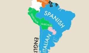 Infografika: Drugi najpopularniejszy język w danym kraju świata