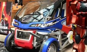 Designer mechów z serii anime Gundam tworzy elektryczny samochód