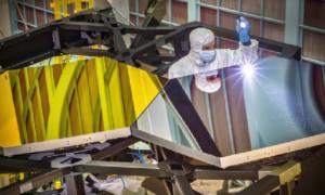 Zwierciadło Teleskopu Kosmicznego Jamesa Webba jest już niemal gotowe