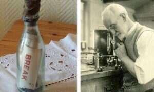Najstarsza odnaleziona butelka z wiadomością