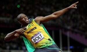 Usain Bolt zalicza glebę dzięki kamerzyście na Segwayu