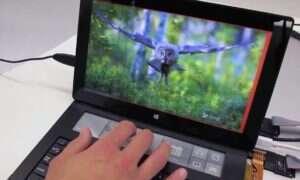 Eksperymentalna klawiatura Microsoftu z opartym o e-ink ekranem dotykowym