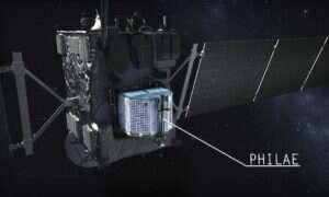Na komecie badanej przez Rosettę zachodzą dziwne zmiany