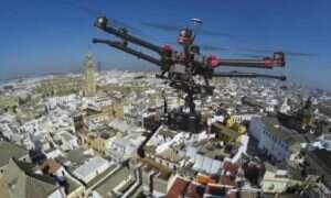 Brytyjscy urzędnicy chcą nadzorować ruch dronów – o pomoc proszą NASA