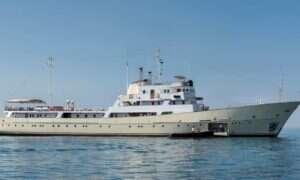 Obejrzyj galerię zdjęć: Luksusowy okręt ze szpiegowską przeszłością