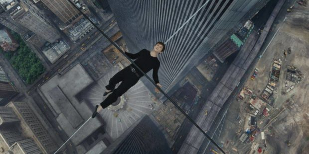Philippe Petite (Joseph Gordon-Levitt) in TriStar Pictures' THE WALK.
