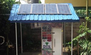 ColdHubs – zasilana panelami słonecznymi lodówka z Nigerii