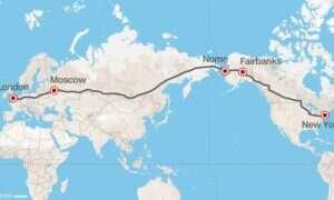Rosja proponuje budowę super-autostrady między Nowym Jorkiem i Londynem