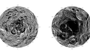 Pierwsze zdjęcia biegunów Ceres