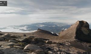 Wdrap się na najwyższy szczyt Malezji przy pomocy Google Street View