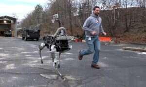 Marines rozpoczynają trening z robotem-psem z Boston Dynamics
