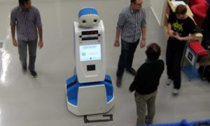 Robot Spencer będzie przewodnikiem dla zagubionych pasażerów