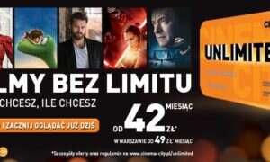 Cinema City: Unlimited czyli pierwszy w Polsce abonament kinowy