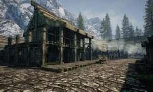 Cała mapa ze Skyrima odtworzona w Unreal Engine 4