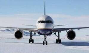 Pasażerski Boeing wylądował na Antarktydzie