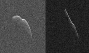 W wigilię ogromna asteroida przemknęła obok Ziemi