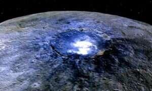 Odkryto tajemnice jasnych plam na Ceres