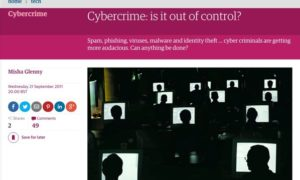 Malware infekuje artykuł prasowy o przestępczości internetowej