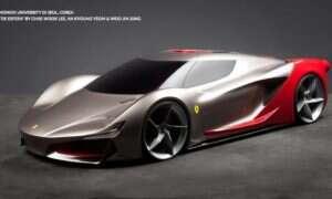 Jak samochody Ferrari będą wyglądać za 25 lat?