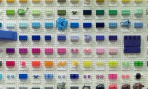 Fan(atyk) stworzył zestawienie wszystkich istniejących kolorów klocków Lego