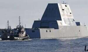 USS Zumwalt wyrusza na testy morskie