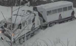 Nowy rosyjski transportowiec, przystosowany do zimowych warunków