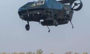 Dron ratowniczy zdolny do samodzielnego lotu