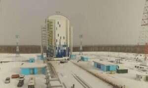 Dron sfilmował nowy, właśnie budowany rosyjski kosmodrom