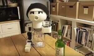 Oto Robot Drinky – towarzysz do picia alkoholu