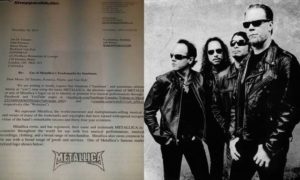 Metallica chce wytoczyć sprawę w sądzie swoim fanom