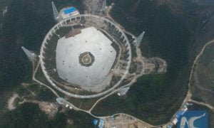 Budowa największego radioteleskopu świata wymaga przesiedlenia 9000 ludzi