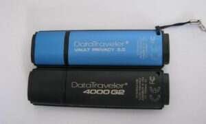 Test pamięci szyfrowanych Kingston DataTraveler Vault Privacy 3.0 oraz 4000 G2