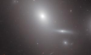 Supermasywna galaktyka NGC 4889 okiem Hubble'a