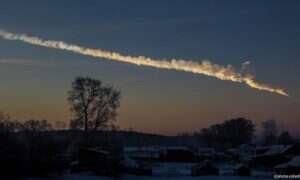 Największy wybuch w górnych warstwach atmosfery od asteroidy z Czelabińska
