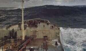 System ostrzegający przed wielkimi, wyjątkowymi morskimi falami