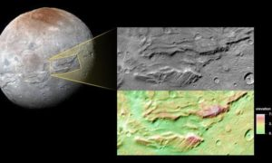 Charon skrywał kiedyś oceany