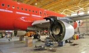 Zobacz Airbusa A320 rozebranego na części