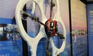 FAROS – ognioodporny dron mogący chodzić po ścianach