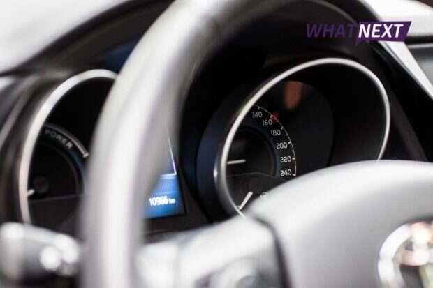 Toyota Auris zegary