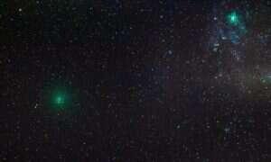 Dwie komety przelatują blisko Ziemi