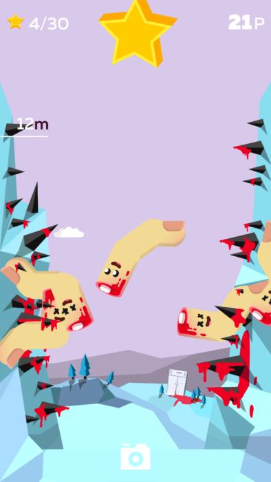 Bloody Finger Jump screen