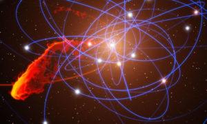 Supermasywna czarna dziura głównym źródłem promieniowania naszej galaktyki?