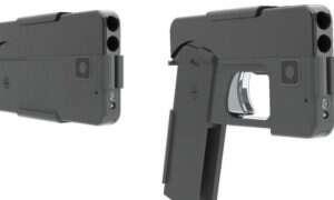 Pistolet w kształcie smartfona