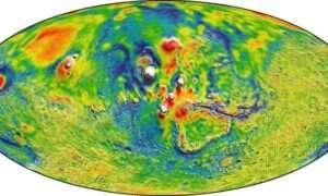 Powstała mapa grawitacyjna Marsa