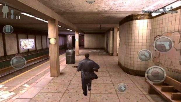 Gry mobilne - Max Payne