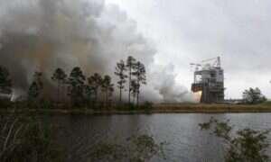 NASA przetestowała silnik SLS