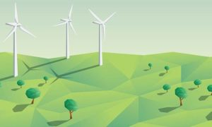 """Sztuczne, drgające """"drzewa"""" mogą zastąpić turbiny wiatrowe"""