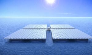 Heliofloat – farma słoneczna, która pływa po oceanie