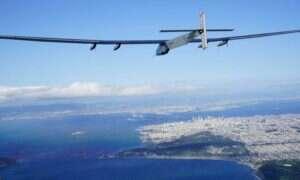 Solar Impulse 2 wylądował po 62-godzinnym locie